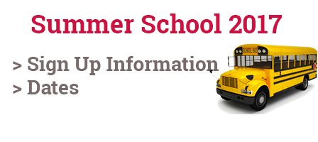 Summer School 2017 Sign Up Information