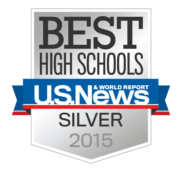 Logo of Best High Schools U.S News Silver