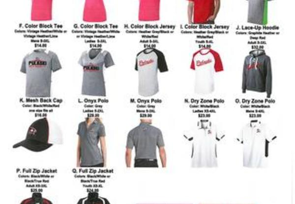 Pulaski Raider Apparel Orders