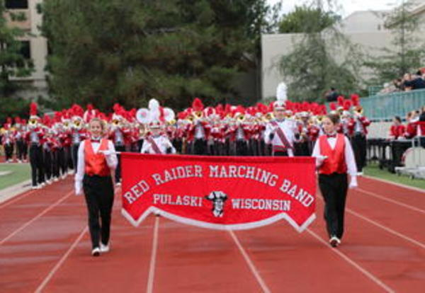PHS Marching Band performs at the 2017 Tournament of Roses Parade