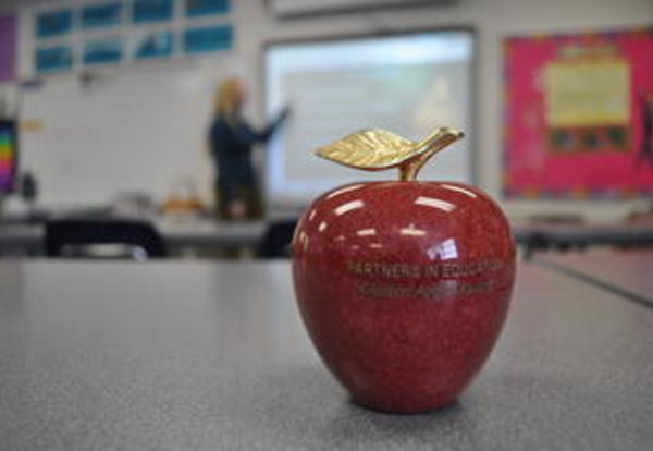 PCSD teachers nominated for Golden Apple award