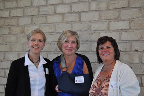 Retirees: Jill Miller, Char Freeberg, and Judy Hanstedt