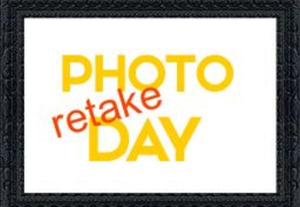 Reminder of Photo Retake Day October 19th