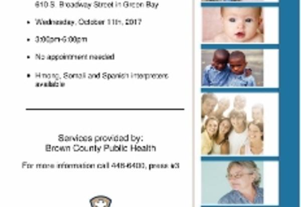 Flu Vaccine Clinic 10/11/17