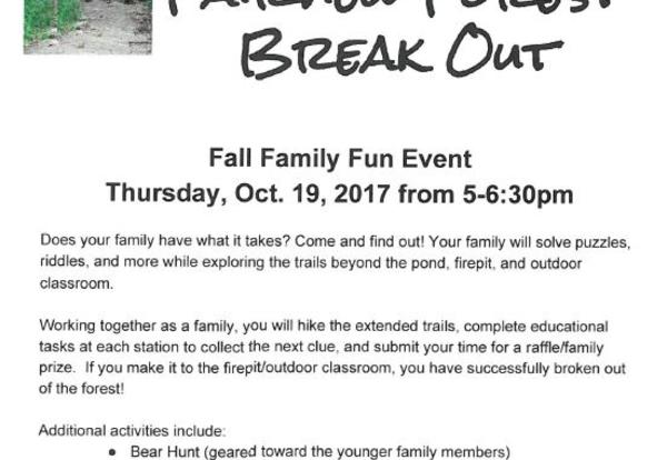Fairview Forest Break Out
