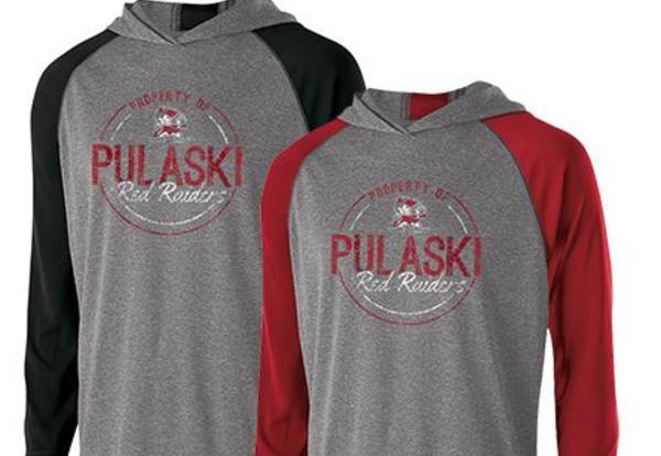 Pulaski Red Raider Apparel Sale