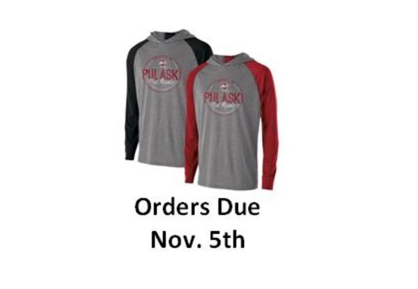 PTO Pulaski Red Raider Apparel Orders Are Due Nov. 5th