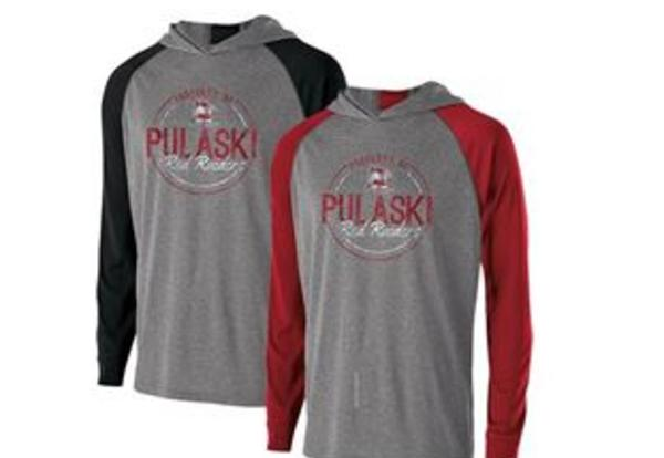 Pulaski Red Raider Apparel Order Has Arrived