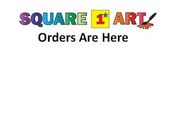 Square 1 Art Orders Have Arrived