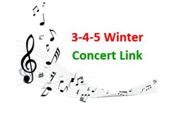 Sunnyside K-1-2 Winter Concert Link
