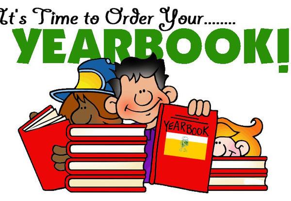 YEARBOOK Orders due April 20