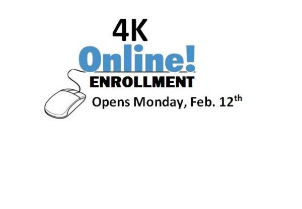 2018-19 4K Enrollment Opens February 12, 2018