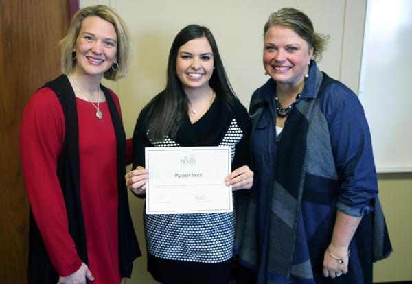 Fairview teacher Megan Santi earns statewide WACTE award