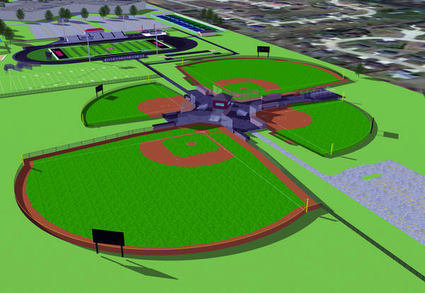 Groundbreaking for Phase II of Red Raider Field of Dreams is April 12