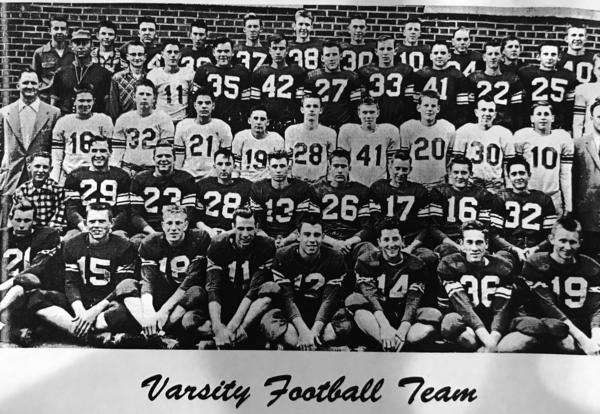 1955-56 PHS football squad had great season