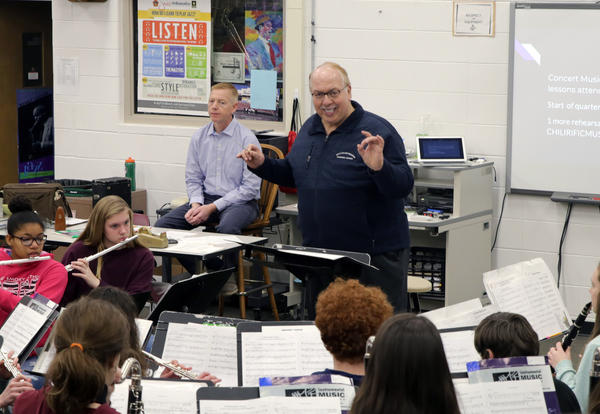 PCSD massed band to perform music written for Pulaski on Sunday