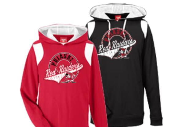 Pulaski Raiders Apparel Sale - Online School Store Now Open Until Sept. 13th