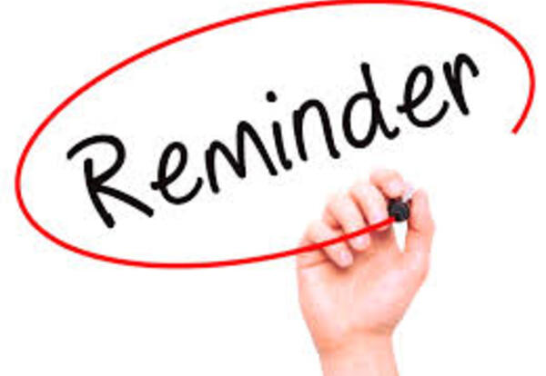 No School Friday, January 22 (& other reminders too!)