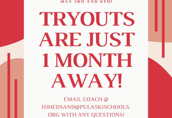 PHS dance team tryouts set for next school year