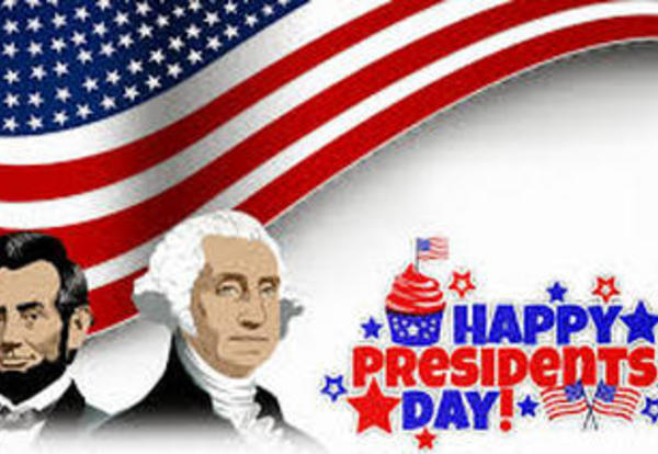 President's Day Holiday Confirmed for Monday, February 20
