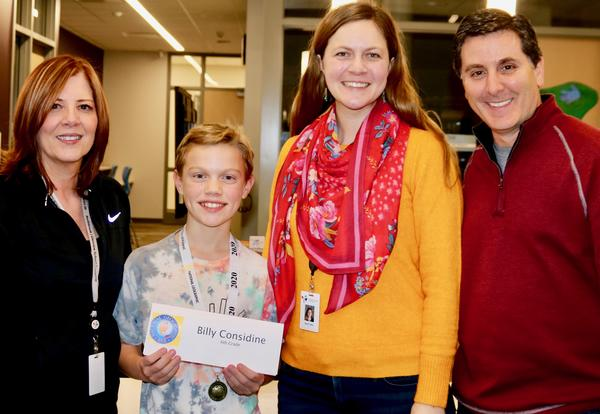 Maple School Sixth-Grader Billy Considine is the Winner of the Geography Bee!