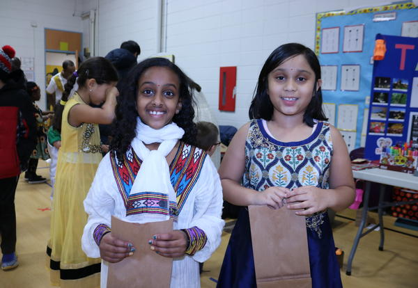 Wescott PTO's International Event Features 13 Countries!