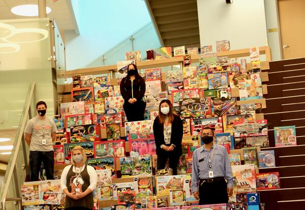 Maple's Annual Toy Drive Reaches New Heights