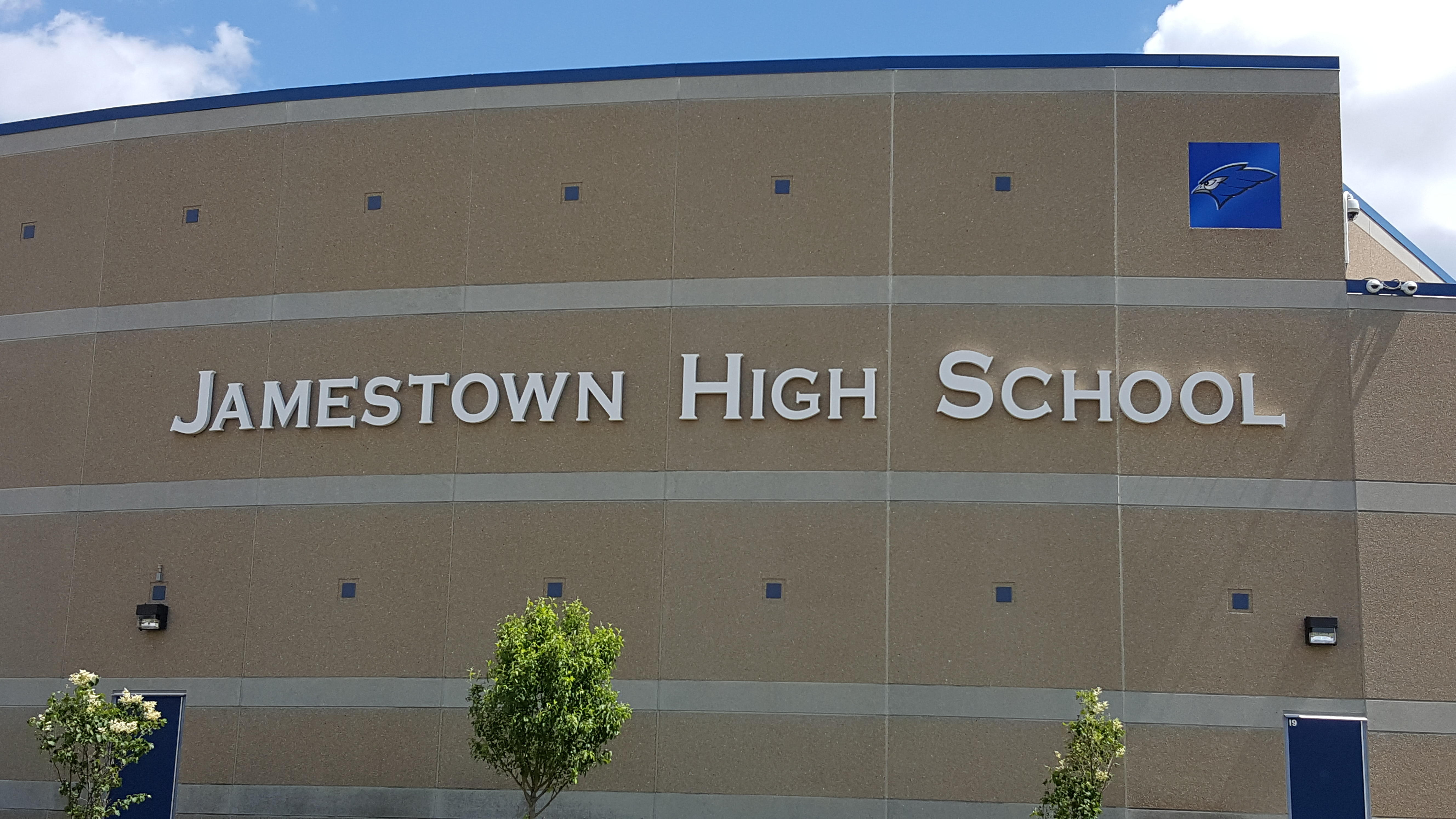 Jamestown HS Building