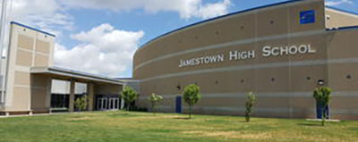 Jamestown High School Building photo