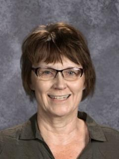 Jamestown High School Administrative Assistant Deb Ova