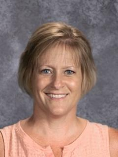 Jamestown High School Attendance Clerk Kristi Hillerud