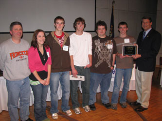 2010 Lifesmarts 3rd at State