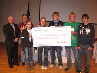 2011 Lifesmarts 1st at State