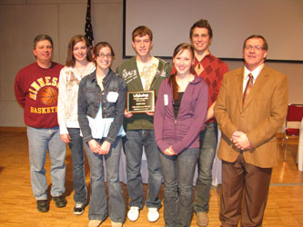 2011 Lifesmarts 3rd at State