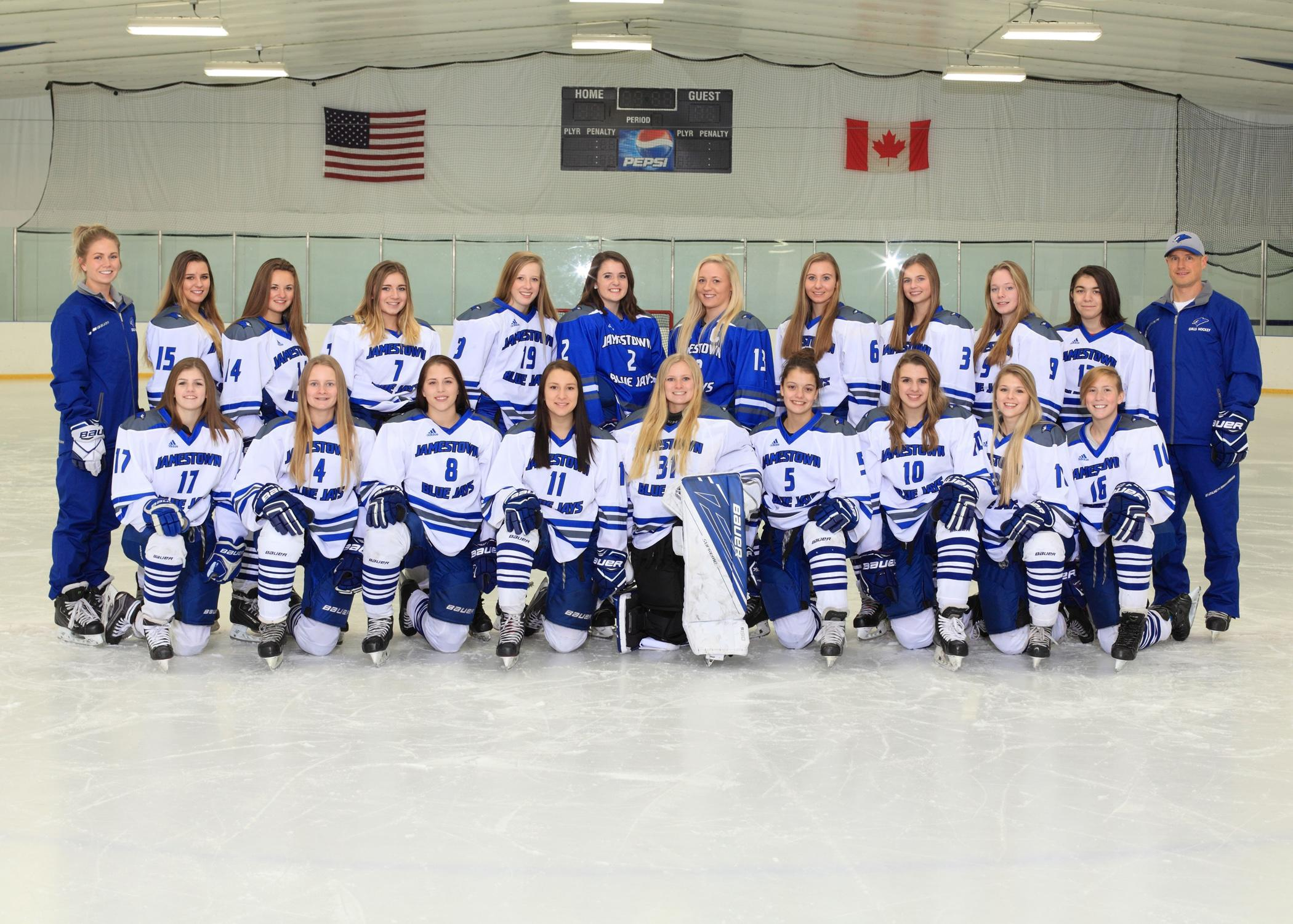 JHS Girls Hockey Team 2017