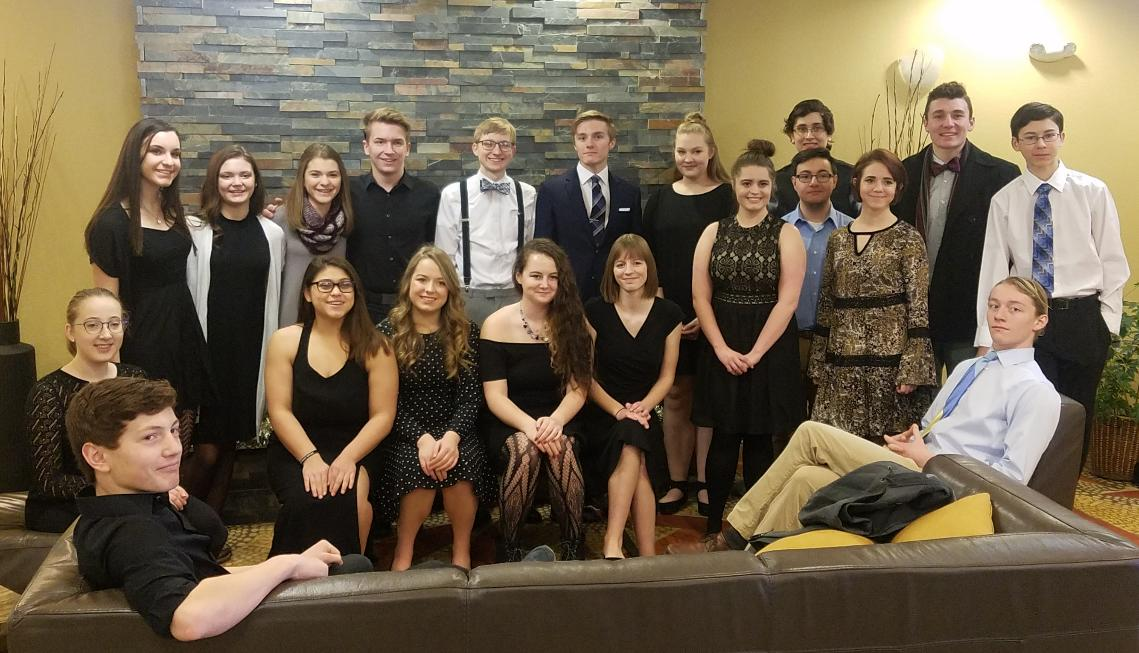 UND Honor Band, Choir, and Orchestra Festival participants