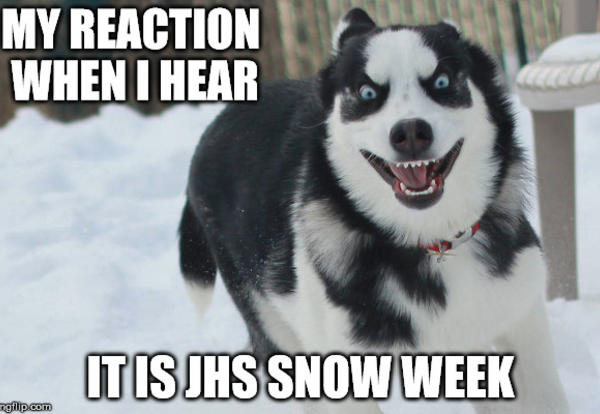 JHS Snow Week