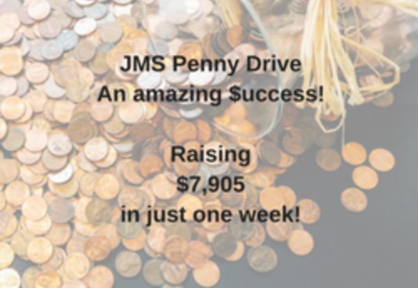 JMS Penny Drive-$uccess!