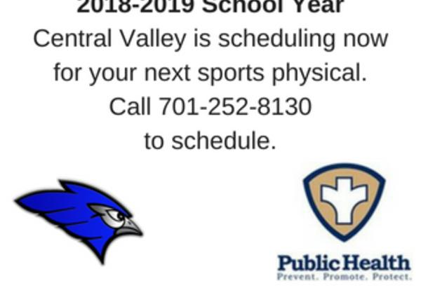 JPS Sports Physicals-Time to Schedule