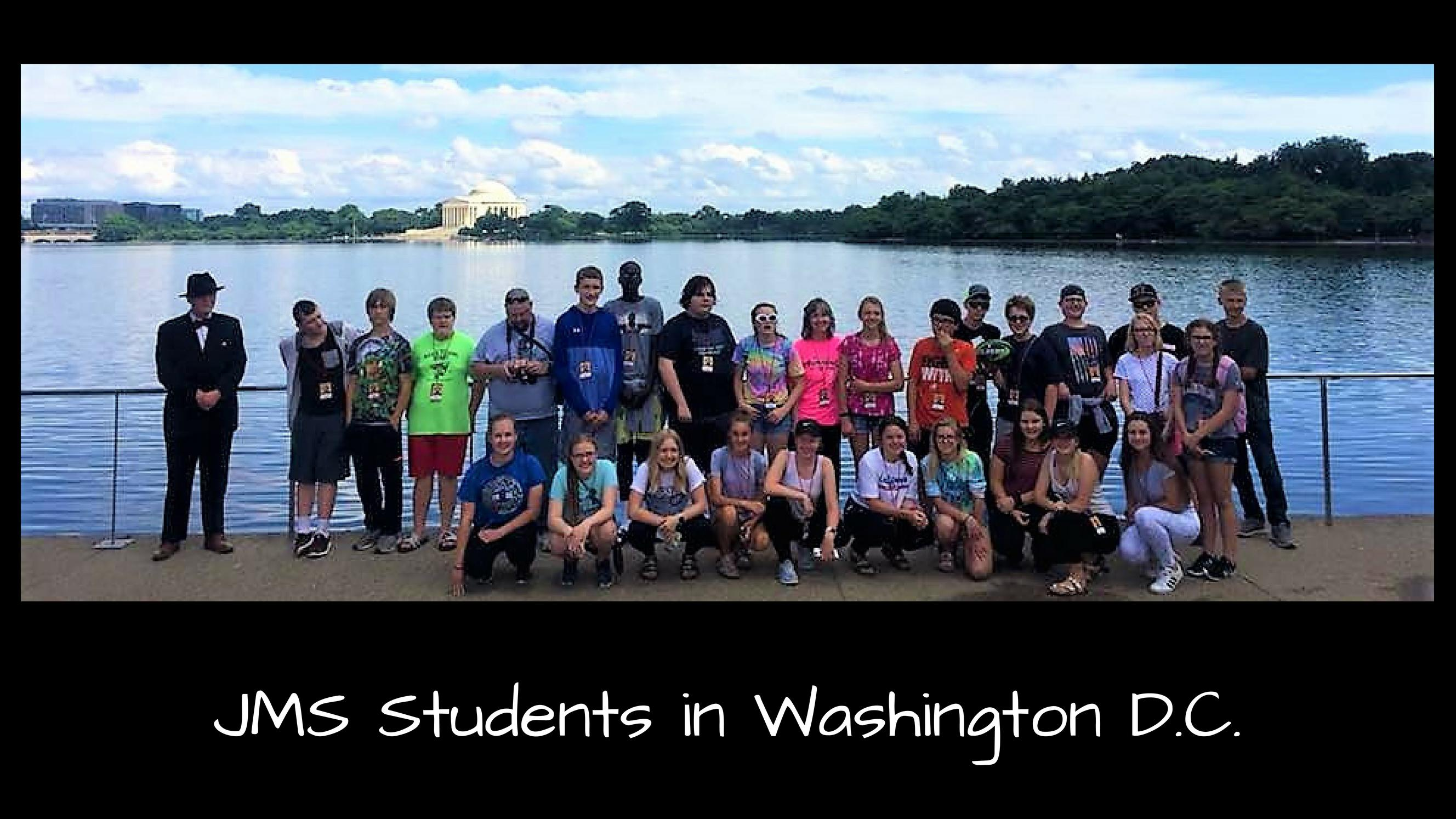JMS Students in Washington D.C.