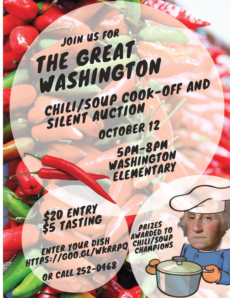 Chili Cook-Off Flyer image