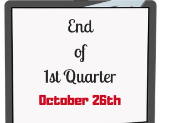 Image for End of 1st Quarter