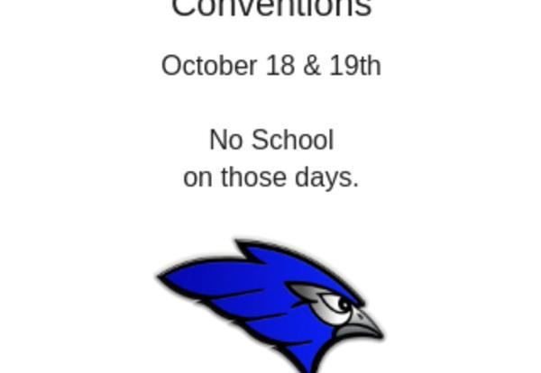 NDU/NDCEL Conventions-No School