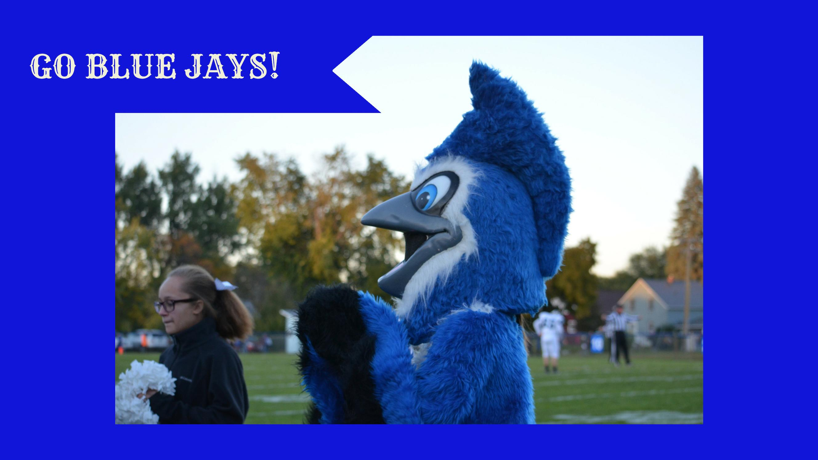Blue Jay Mascot-Go Blue Jays