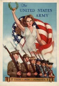 US Army poster circa WWII