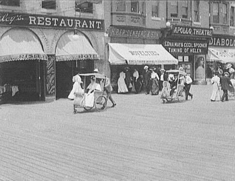 Atlantic City Boardwalk Circa 1910
