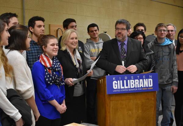 Senator Gillibrand Visits ACS
