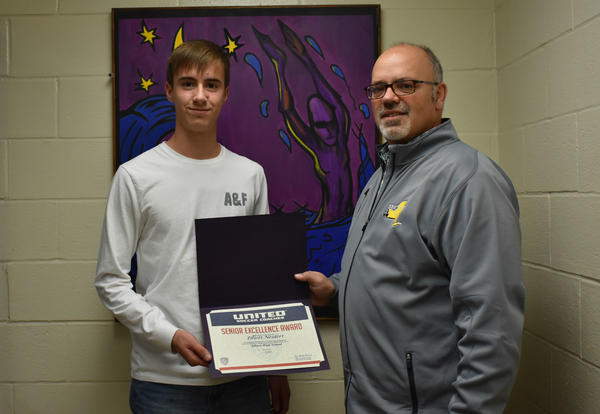 Neidert is Recipient of Soccer Excellence Award