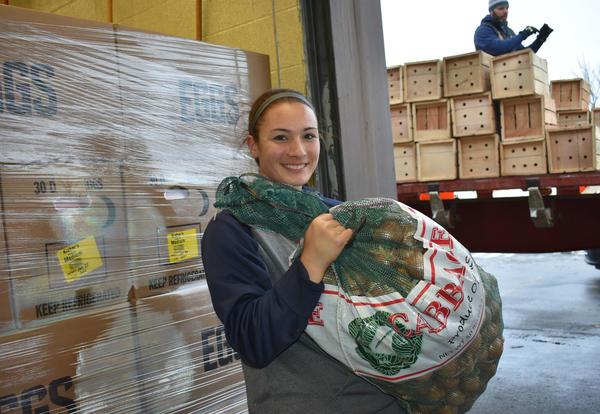 FFA Donates 35,000 Lbs of Food!