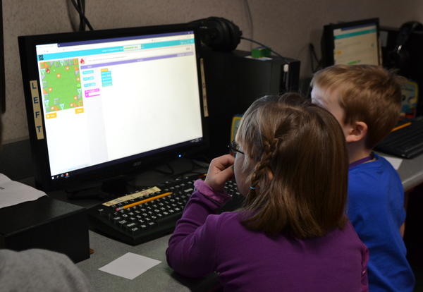 "Students Participate in ""Month of Code"""